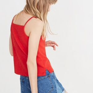 Madewell Texture & Thread apron tank top